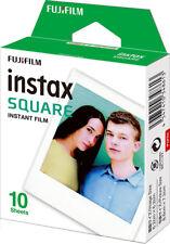 Fuji Instax SQUARE Sofortbildfilm für 10 Fotos für die Fuji Instax SQAURE SQ 10