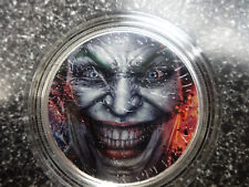 """2020 Silver Eagle Colorized """" THE JOKER """" 1 of  20"""