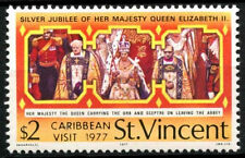 St. Vincent 1977 Royal Visit MNH Stamp #R476