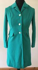 Vintage Crimplene Dress Coat Size 11