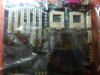 Vintage Supermicro Server Motherboard Super 370DLE Dual PIII