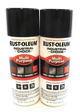 Rust-Oleum Spray Paint Cans Gloss Black 12 Oz per Can (2 Cans) 1679830