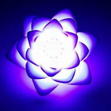 Lotus Flower Pad LED Floating Night Light Multi Colour Changing Light Battery AU