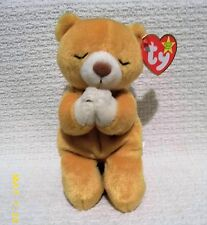 RARE RETIRED TY BEANIE BABY ,HOPE- THE PRAYING BEAR, 1998, ERRORS ON TAGS