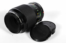 Canon 100mm f/4 Macro FD Mount Lens