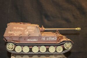 ELEFANT PANZER JAGER TIGER TANK 1/35 SCALE ASSEMBLED ,PAINTED MODEL  FREE SHIP!