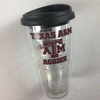 Texas A&M Aggies Tumbler Coffee Drink Insulated 24oz Travel USA Made Mug Cup NEW