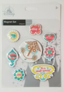 Disney Parks - It's A Small World - 8 Set Magnet Assortment - New With Tags