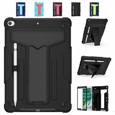 """For iPad 10.2"""" 2019 7th generation Shockproof Hard Armor Case Kickstand Cover"""