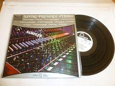 Living Presence Stereo - 1968 UK 13-track stereo label sampler LP