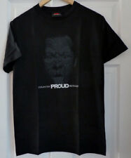 """Canterbury Mens Proud NZ Tee Shirt in Black  - Size Small (34"""") - NEW"""
