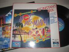 """Various Artists - Hot 105 FM Miami 12"""" instant mix  12'' Vinyl Maxi"""