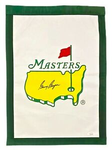 GARY PLAYER Autograph SIGNED MASTERS GARDEN GOLF FLAG PGA TOUR CHAMPION JSA CERT