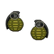 Hand Grenade Tennis Dampener 2 Pack by Racket Expressions