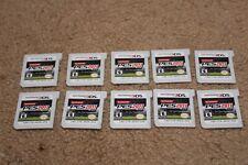 Lot Of 10 Nintendo 3DS Games Pro Evolution Soccer (PES) 2011 Cartridges