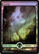Full Art Land Swamp x 10 (2 each art) (Battle for Zendikar) MTG (Mint)