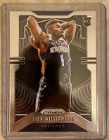 Zion Williamson Prizm 2019-20 PANINI PRIZM RC BASE ROOKIE CARD #248 PELICANS