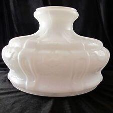 "10"" OPAL GLASS SHADE #7 & #8 ALADDIN BRAND fit old oil lamp / alladin #S401R 401"