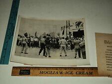 Original Vintage 1955 French Soldiers Troops Meknes Morocco AP Press Photo