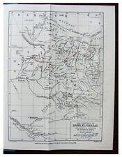1884 Lupton - BAHR-EL-GHAZAL - Sudan - ROUTE MAP - 5