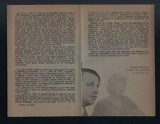 Georges Bataille LE BLEU DU CIEL EO sur Alfama + rare depliant illustré