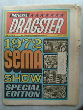2-4-1972 NHRA National Dragster Drag Racing OCIR Moody Snow Leal Platt Ray Alley