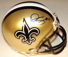 Darren Sproles Autographed New Orleans Saints Riddell Mini Helmet
