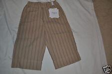Simonetta Boys' Taupe/Navy Stripe Crop Pant (5Yr.) MSRP:  $105.00