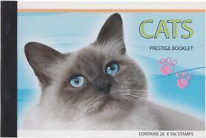 Australia MNH MUH - 2004 Cats (Prestige Booklet)