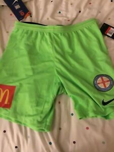 2018-19 Melbourne City Player Issue Green GK Shorts Size Large Rare BNWT