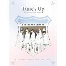 TOPSECRET-[TIME'S UP] 1st Mini Album CD+POSTER+64p Photo Book+2p Card K-POP