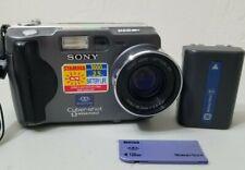 Sony Cyber-shot DSC-S30 Digital Camera Bundle with 128mb memory stick