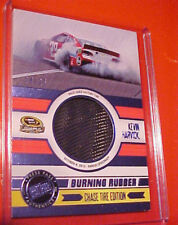 2014 KEVIN HARVICK PRESS PASS BURNING RUBBER RACE USED VICTORY TIRE #/25 !!!