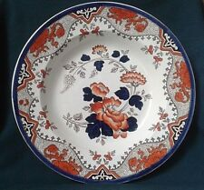 Antique Doulton Burslem Alma soup plate in outstanding condition. Impressed 1882