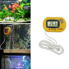 Lcd Thermometer Aquarium Fish Tank Vivarium Water Digital Temperature Meter