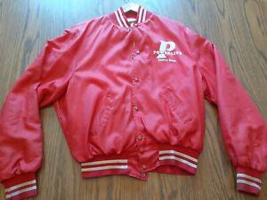Vtg Early 1980s Powerlite Factory Team Bmx Original Race Jacket, Oldschool