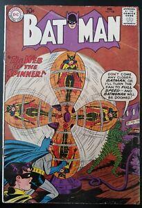 ⭐️ BATMAN #129 (Batwoman cover, Robin Orgin retold)(1960 DC Comics) GD Book