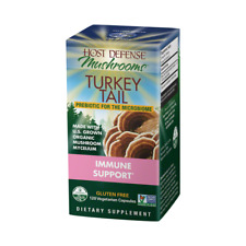 Host Defense Organic Mushrooms Turkey Tail Immune Support 120 Vcaps