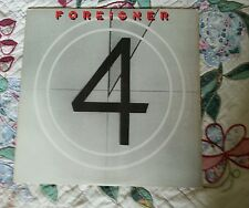 "Foreigner ""4"" LP. 1st edition w/lyric inner-sleeve. Atlantic Records.1981"