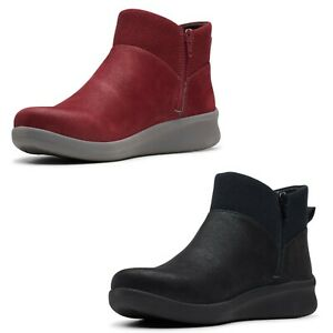 LADIES CLARKS SILLIAN 2.0 DUSK ANKLE BOOT