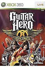 Guitar Hero Aerosmith Xbox 360 Game For T-kids