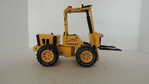 Tonka XR-101 Articulated Forklift Vintage 1970s . Works!