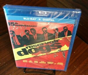 Reservoir Dogs (Blu-ray+Digital)-Brand NEW (Sealed)-Free Shipping with Tracking