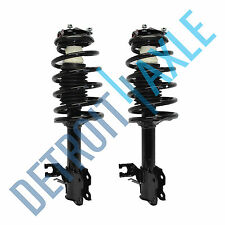 Pair 2 Complete Front Struts w/ Coil Spring and Mount for 2002-06 Nissan Sentra