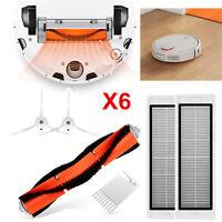 Main Brush+HEPA Filter+Side Brushes for XIAOMI Mi Robot Vacuum Cleaner Part Kits