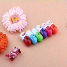 TopTot Korean-style Cute Telescopic Capsule Ball Pen With  X Kawaii Smilies