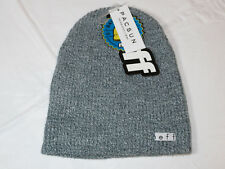 NEFF Daily Beanie knit hat skull cap lid NEW One Size gray heather NF00001 NWT