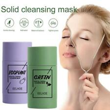 Green Tea Purifying Clay Stick Masks Anti-Acne Deep cleansing Oil Control Hot