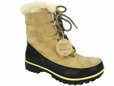 JBU Women's Mendocino Winter Boots Tan Light Beige Size 6 M