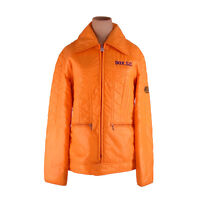 Moncler Coats Jackets Logo Orange Woman Authentic Used F1310
